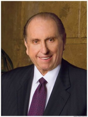 Thomas S. Monson Named Tenth Most Admired Man