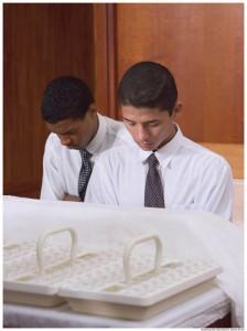 Blessing Sacrament Mormon