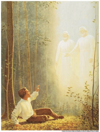 Mormon God