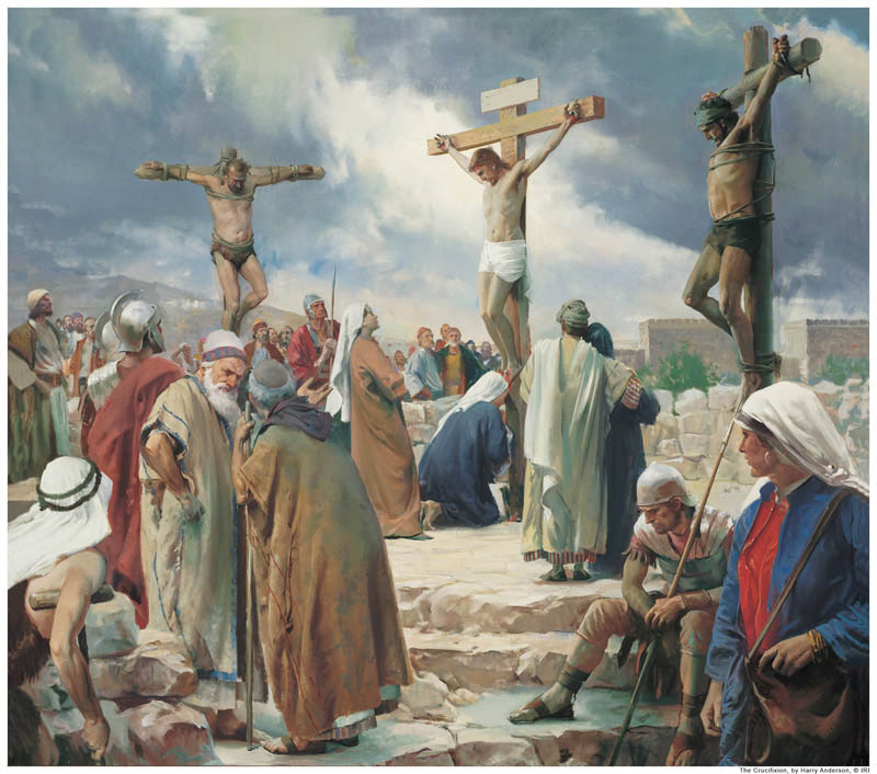 Mormon Jesus Christ died on the cross for us.