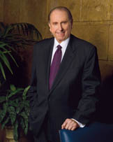 Mormon Church President Thomas S. Monson