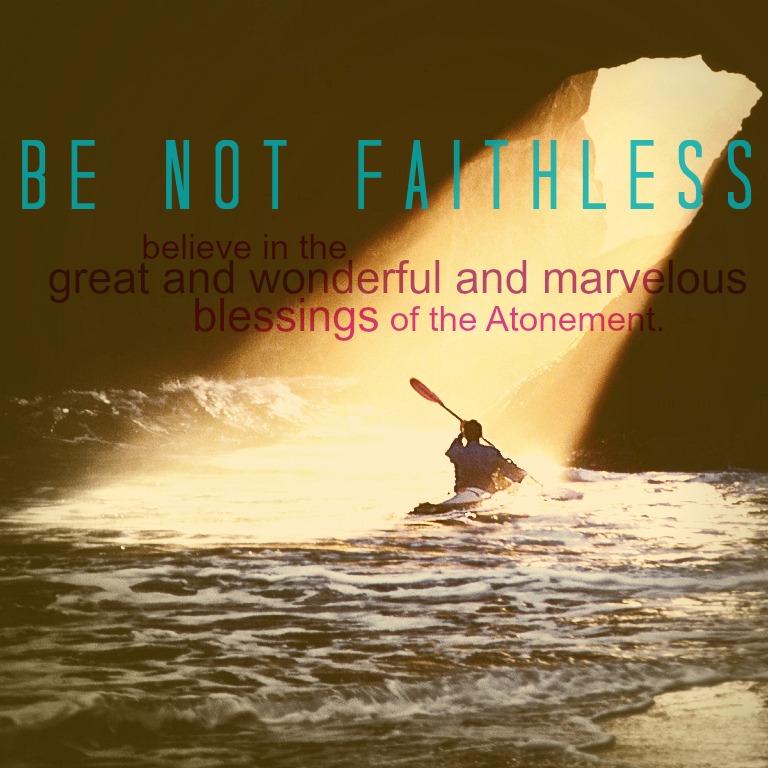 Not Faithless Blessings AD