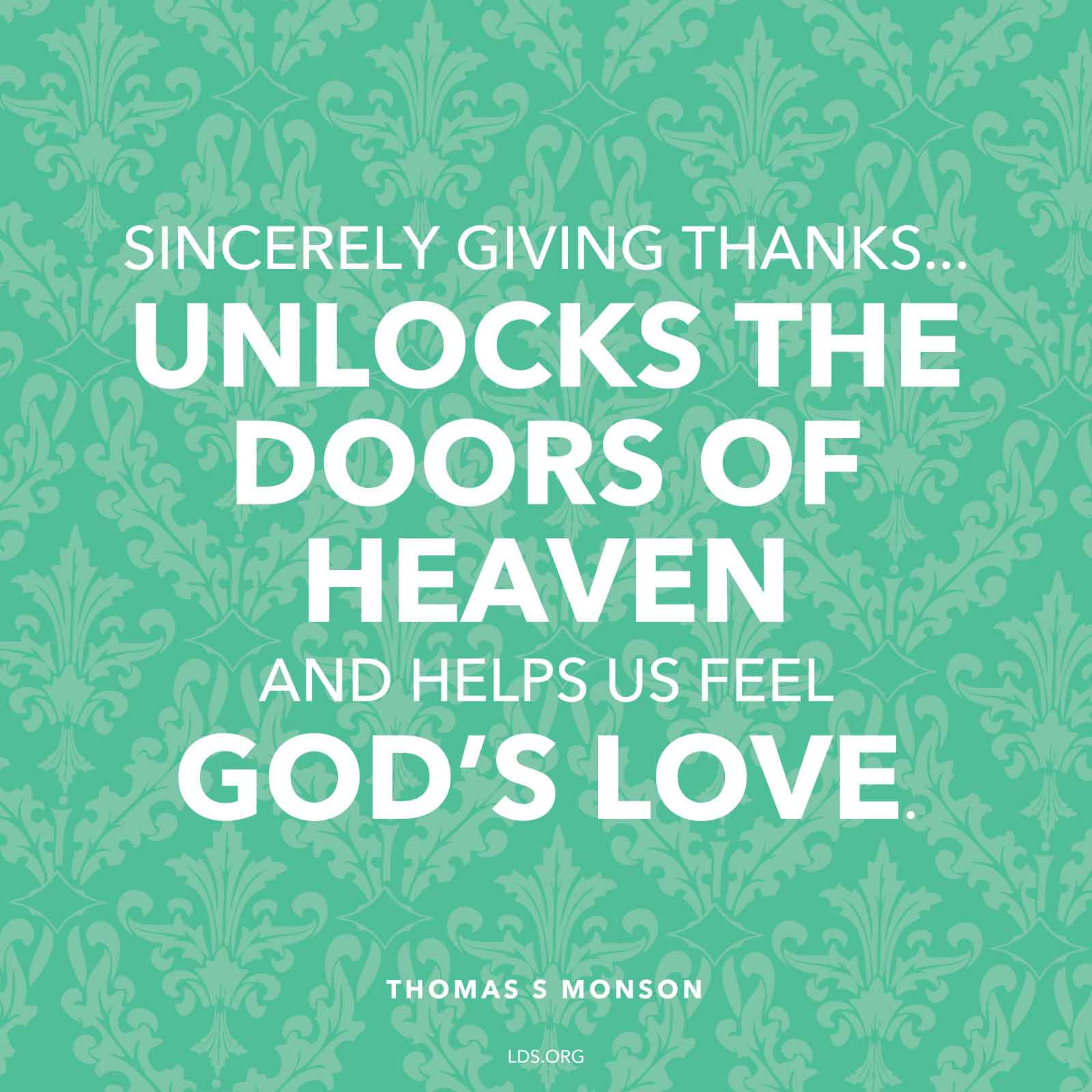 Mormon Quotes Home  Thomas Monson